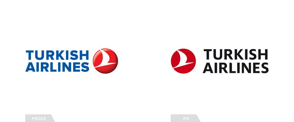 Zmiana logo lini lotniczych Turkish Airlines