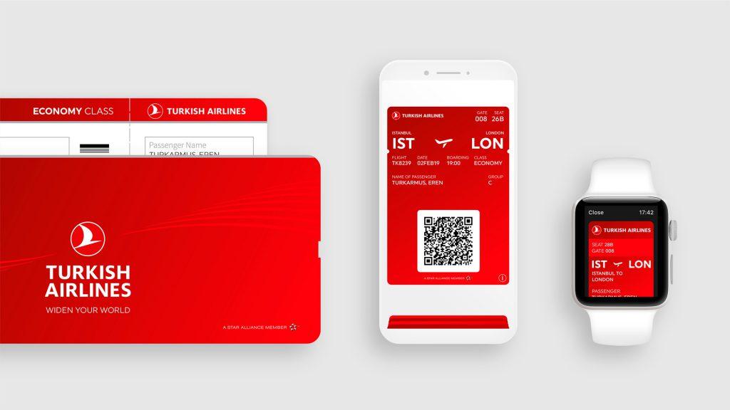 Turkish Airlines bilet, aplikacja