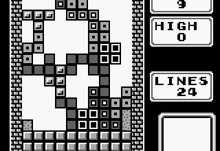 tetris-czarno-biały